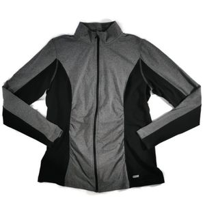 NWT Maternity Zip Up Jacket L